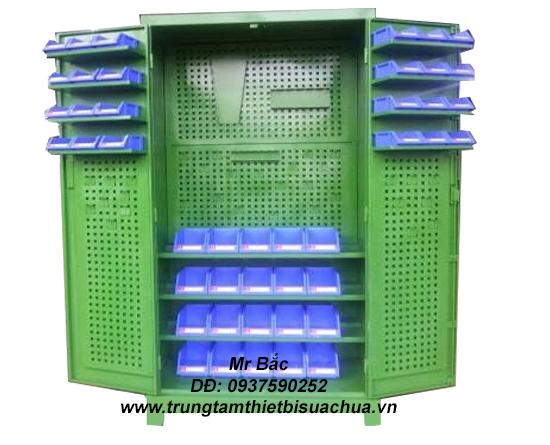 www.123nhanh.com: Tủ đồ nghề 2 cánh 5 ngăn